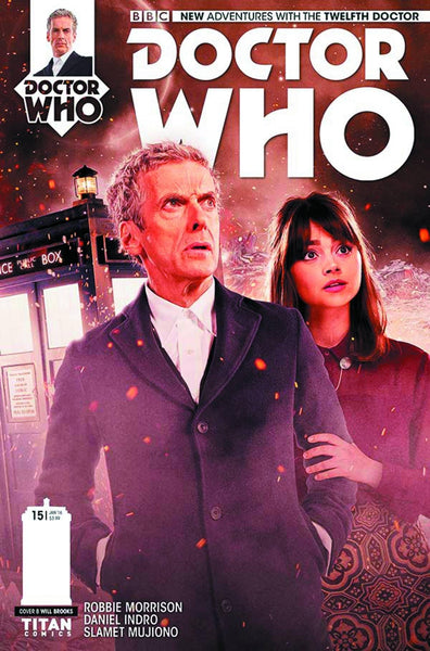 DOCTOR WHO 12TH #15 SUBSCRIPTION PHOTO