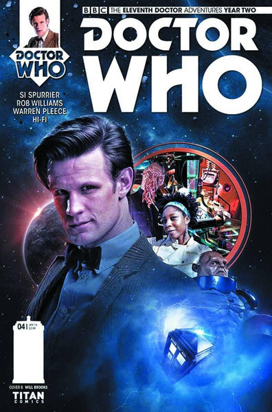 DOCTOR WHO 11TH YEAR TWO #4 BROOKS SUBSCRIPTION PHOTO