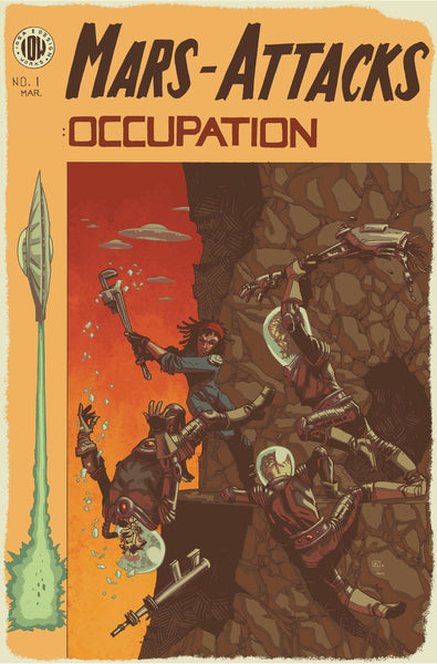 MARS ATTACKS OCCUPATION #1 10 COPY INCV