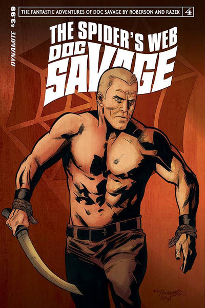 DOC SAVAGE SPIDERS WEB #4 CVR A TORRES