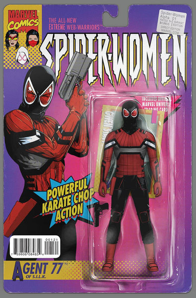 SPIDER-WOMEN ALPHA #1 CHRISTOPHER ACTION FIGURE VAR SWO