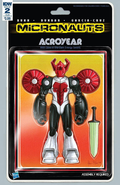MICRONAUTS VOL 5 #2 SUBSCRIPTION VAR B