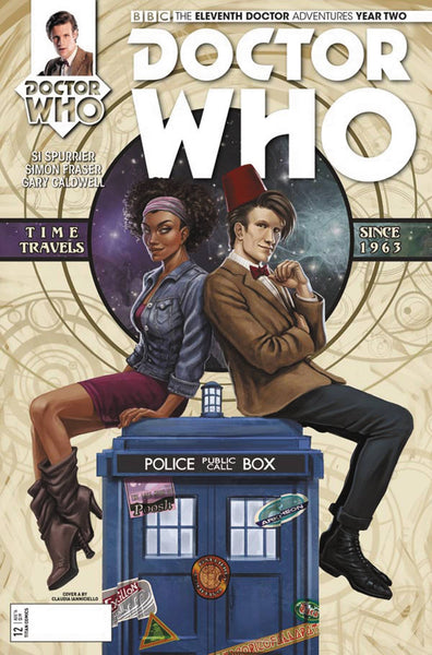 DOCTOR WHO 11TH YEAR TWO #12 CVR A IANNICIELLO