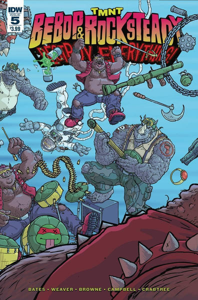TMNT BEBOP & ROCKSTEADY DESTROY EVERYTHING #5 - Kings Comics