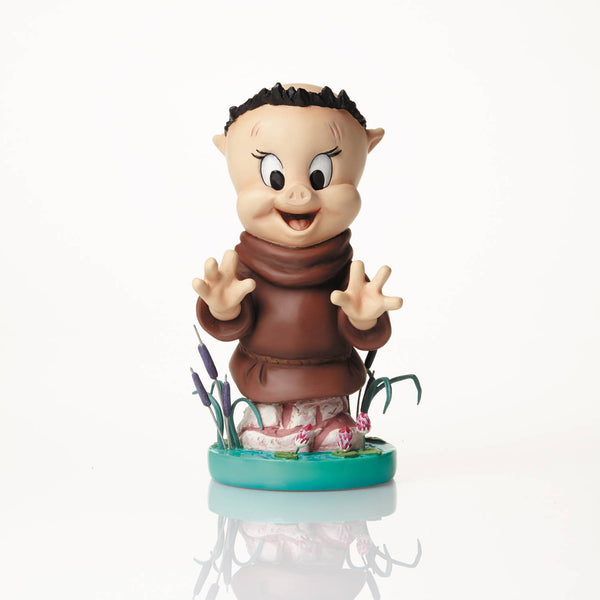GRAND JESTER PORKY PIG AS FRIAR TUCK FIG