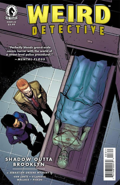 WEIRD DETECTIVE #3 - Kings Comics