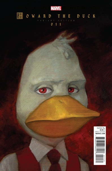 HOWARD THE DUCK VOL 5 #11 ZDARSKY LAST ISSUE VAR