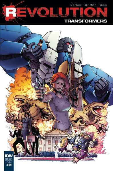 TRANSFORMERS REVOLUTION #1 SUBSCRIPTION VAR