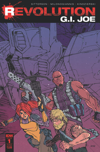 GI JOE REVOLUTION #1 SUBSCRIPTION VAR