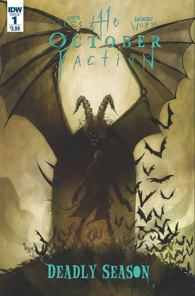 THE OCTOBER FACTION DEADLY SEASON  #1 - Kings Comics