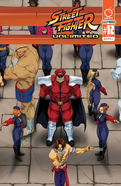 STREET FIGHTER UNLIMITED #12 CVR B CRUZ ULTRA JAM