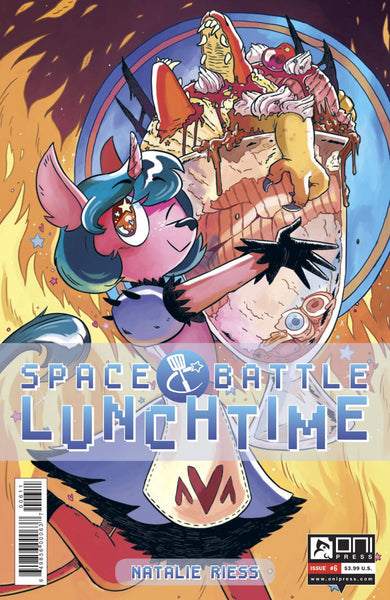 SPACE BATTLE LUNCHTIME #6 - Kings Comics
