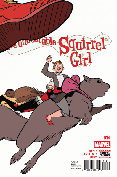 UNBEATABLE SQUIRREL GIRL VOL 2 #14