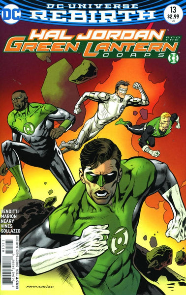 HAL JORDAN AND THE GREEN LANTERN CORPS #13 VAR ED