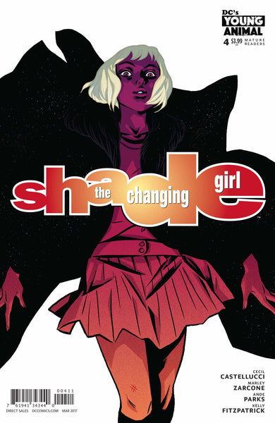 SHADE THE CHANGING GIRL #4 - Kings Comics
