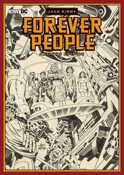 JACK KIRBY FOREVER PEOPLE ARTIST ED HC