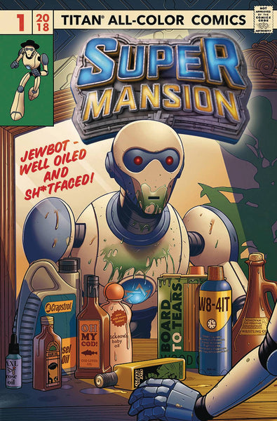 SUPERMANSION #1 CVR A ELPHICK