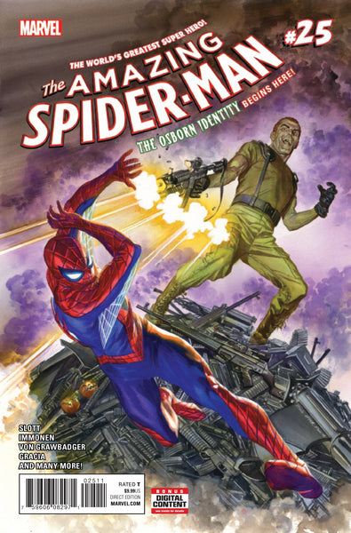 AMAZING SPIDER-MAN VOL 4 #25