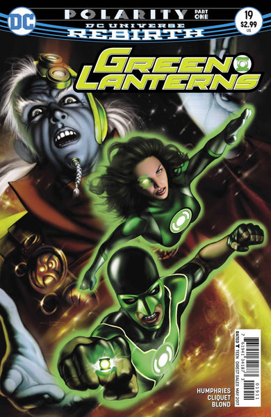 GREEN LANTERNS #19 - Kings Comics