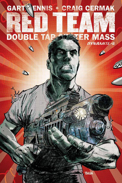 GARTH ENNIS RED TEAM DOUBLE TAP #8