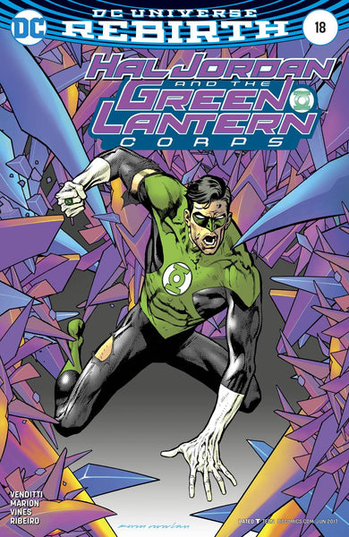 HAL JORDAN AND THE GREEN LANTERN CORPS #18 VAR ED