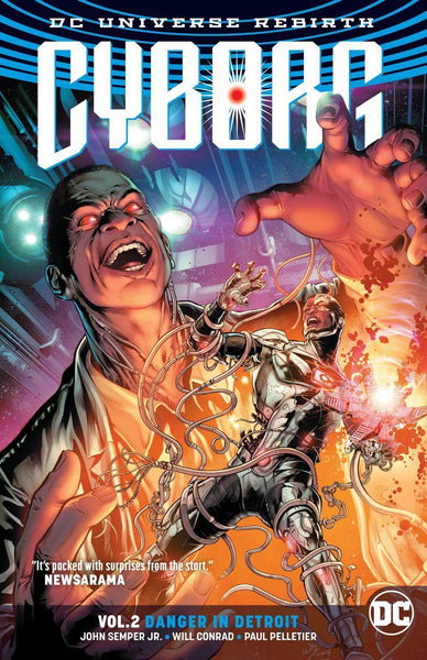 CYBORG TP VOL 02 DANGER IN DETROIT (REBIRTH)
