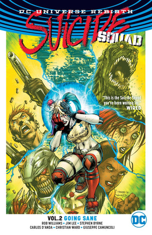 SUICIDE SQUAD TP VOL 02 GOING SANE (REBIRTH)