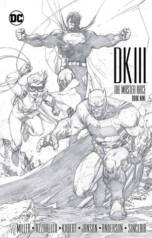 DARK KNIGHT III MASTER RACE #9 COLLECTORS EDITION