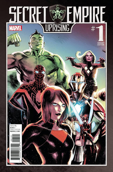 SECRET EMPIRE UPRISING #1 ALBUQUERQUE VAR