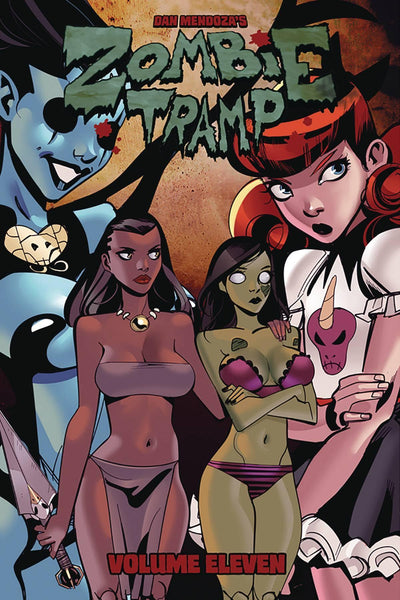ZOMBIE TRAMP ONGOING TP VOL 11 DEMON DAMES & SCANDALOUS GAMES