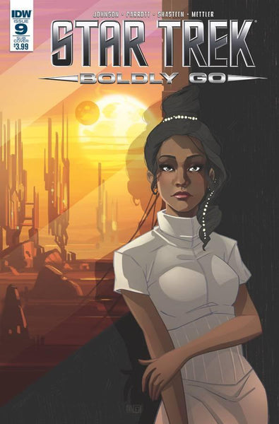 STAR TREK BOLDLY GO #9 SUBSCRIPTION VAR