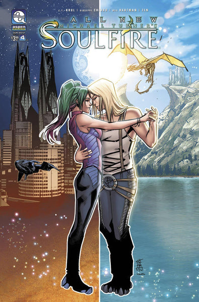 ALL NEW SOULFIRE VOL 2 #4 COVER A CAFARO