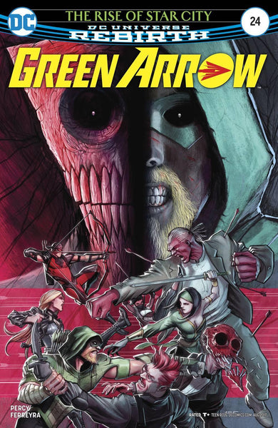 GREEN ARROW VOL 7 #24