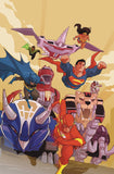 JUSTICE LEAGUE POWER RANGERS #6
