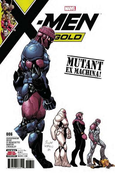 X-MEN GOLD VOL 2 #6