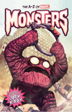 A-Z MARVEL MONSTERS HC