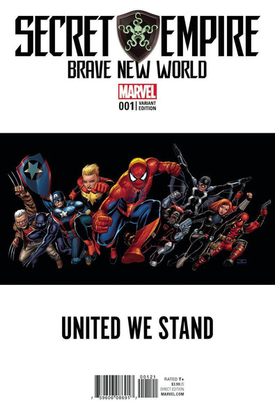 SECRET EMPIRE BRAVE NEW WORLD #1 TEASER VAR SE