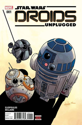 STAR WARS DROIDS UNPLUGGED #1