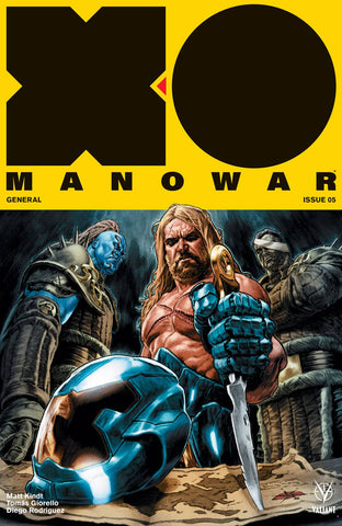X-O MANOWAR VOL 4 #5