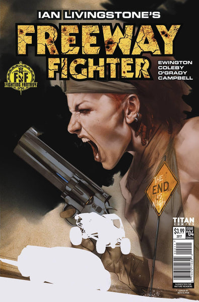 IAN LIVINGSTONES FREEWAY FIGHTER #4 - Kings Comics