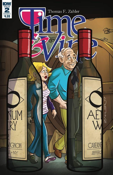 TIME & VINE #2 CVR A ZAHLER - Kings Comics