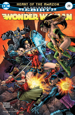 WONDER WOMAN VOL 5 #29