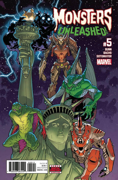 MONSTERS UNLEASHED VOL 2 #5