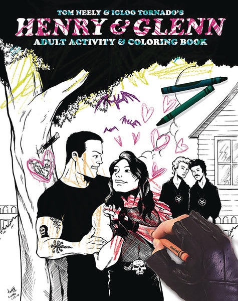 HENRY AND GLENN ADULT COLORING BOOK - Kings Comics