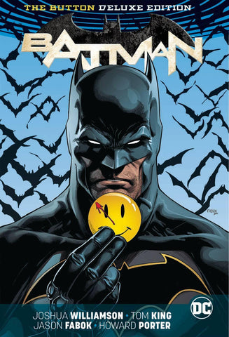 BATMAN FLASH THE BUTTON DELUXE ED HC (REBIRTH) (LIMIT: ONE PER CUSTOMER)