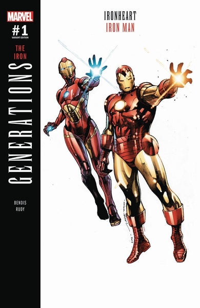 GENERATIONS IRON MAN & IRONHEART #1 COIPEL VAR