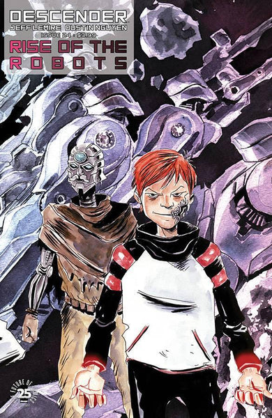 DESCENDER #24 CVR B INTERLOCKING LEMIRE & NGUYEN
