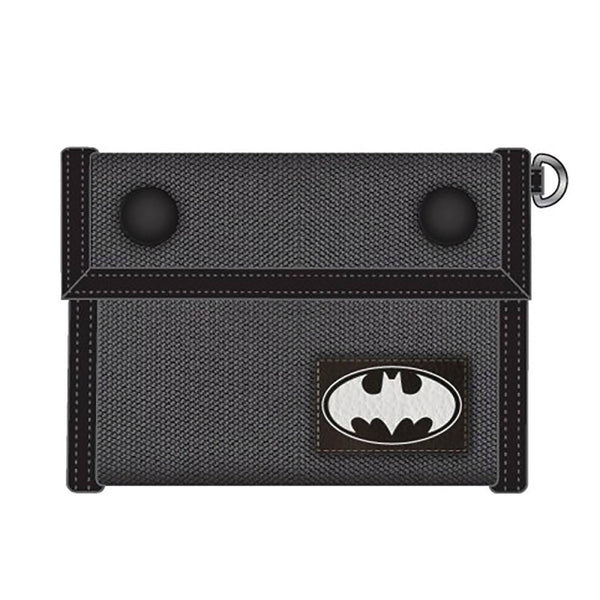 BATMAN CANVAS TRI-FOLD WALLET
