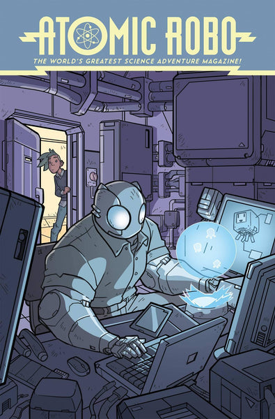 ATOMIC ROBO SPECTRE OF TOMORROW #1 CVR A WEGENER