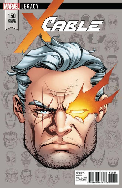 CABLE VOL 3 #150 MCKONE LEGACY HEADSHOT VAR LEG